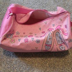 Other - Girls pink Dance duffel bag